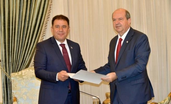 Cumhurbaşkanı Tatar Bugün UBP Başkan Vekili Saner'i Kabul Ediyor