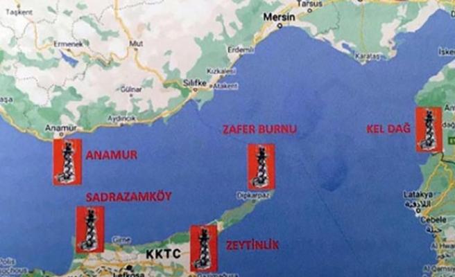 Türkiye'den Doğu Akdeniz hamlesi! 5 ayrı bölgeye kurulacak