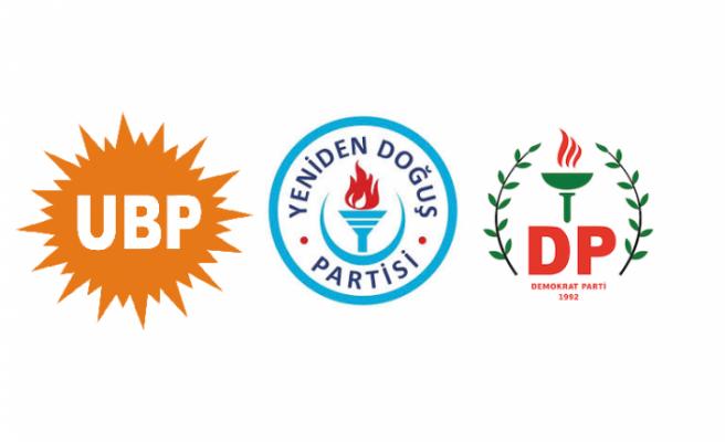 UBP-YDP-DP Koalisyon Hükümetinin kurulmasına ilişkin protokol yapıldı