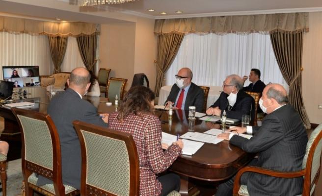 Cumhurbaşkanı Tatar AB İle Üst Düzey Temaslarına Devam Ediyor