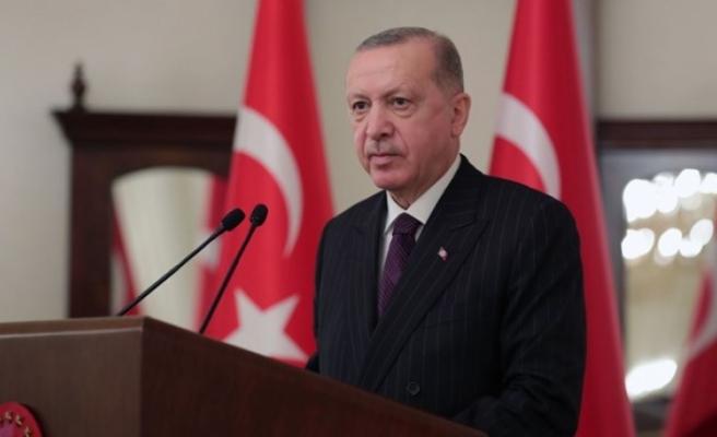 Cumhurbaşkanı Erdoğan Avrupa Birliği ülkeleri büyükelçilerine seslendi
