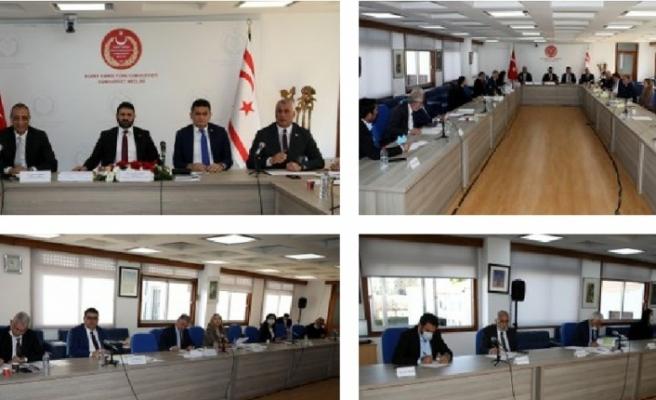Cumhuriyet Meclisi Ekonomi, Maliye, Bütçe ve Plan Komitesi toplandı