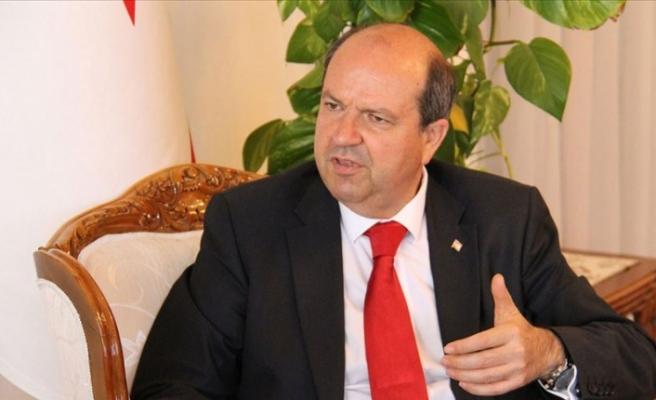 """Ersin Tatar """" Rum tarafı sadece BM planını değil, çözümü reddetti"""""""