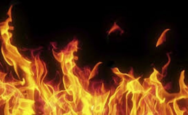 Lefkoşa'da Ev Yangını!