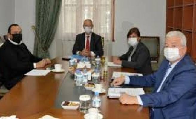 Maraş Açılım Komitesinin ilk toplantısı Cumhurbaşkanlığında Yapıldı