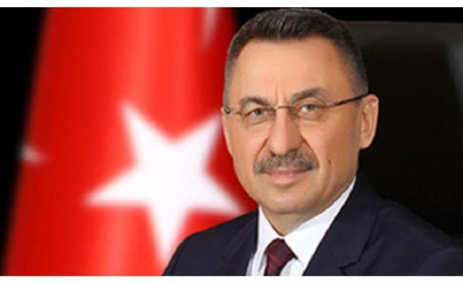 """TC Cumhurbaşkanı Yardımcısı Oktay """" Türkiye olarak tüm imkanlarımızla kardeşlerimizin yanındayız. """""""