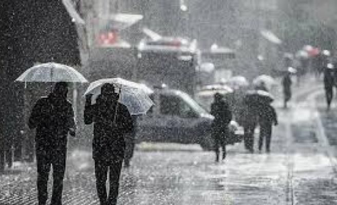 Yarın Yüksek Kesimlerde Karla Karışık Yağmur Bekleniyor