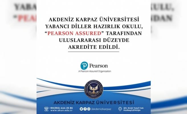 Akdeniz Karpaz Üniversitesi Yabancı Diller  Hazırlık Okulu Pearson Akreditasyon Sürecinde Başarıyla Geçti