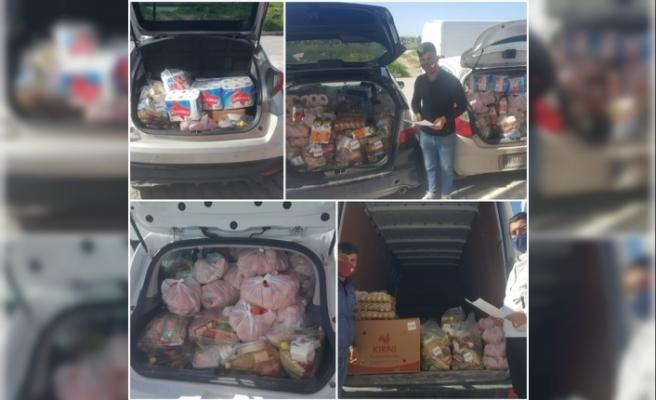 Alayköy Organize Sanayi Bölgesi İş İnsanları Derneği 150 aileye destek sağladı