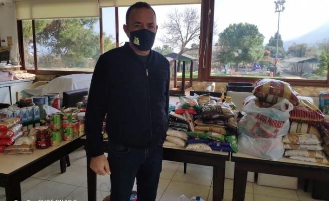 """Alsancak Belediye Başkanı Fırat Ataser """"  İhtiyaçlı kişilere yardım edeceğiz"""""""
