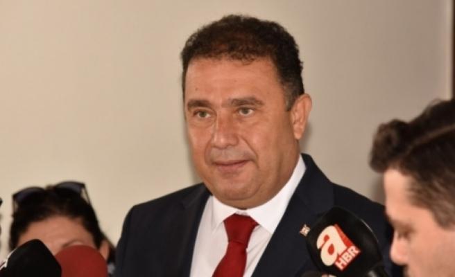 Başbakan Ersan Saner kabinesinde değişiklik yaptı