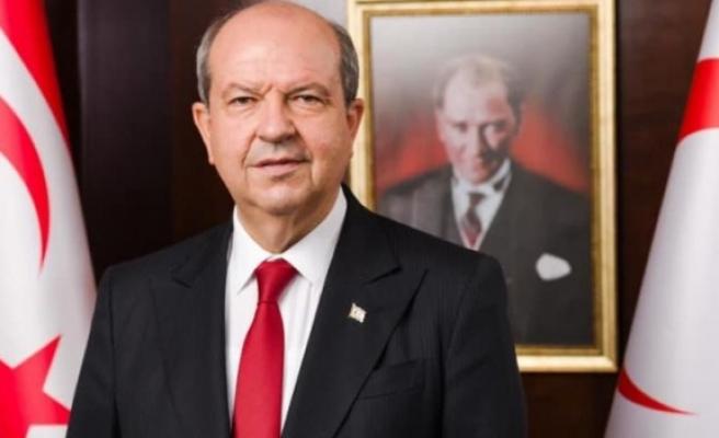 Cumhurbaşkanı Ersin Tatar'dan Buse Savaşkan ve Merve Çelebi için tebrik mesajı