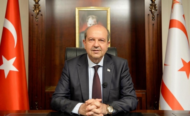 Cumhurbaşkanı Ersin Tatar, Rum Yönetimi Başkanı Nikos Anastasiadis ile Rum Dışişleri Bakanı Nikos Hristodulidis'i yanıtladı