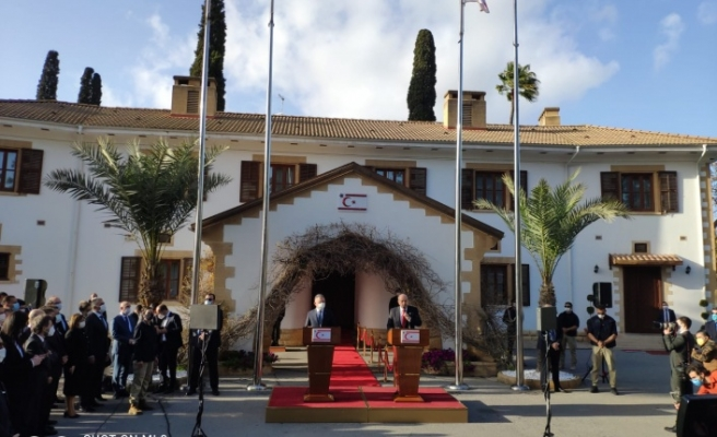 Ersin Tatar'dan Kıbrıs meselesi açıklaması! Türkiye ile uyum içindeyiz