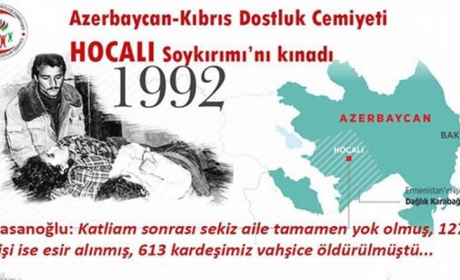 Hasanoğlu: Hocalı Katliamını unutmadık unutturmayacağız