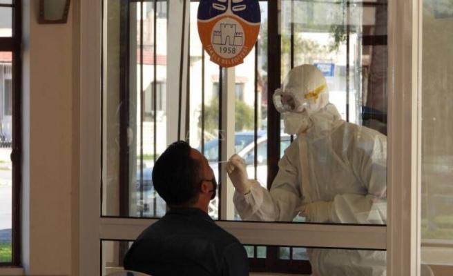 İskele'de PCR testleri yapılmaya devam ediyor: 194 polise test yapıldı