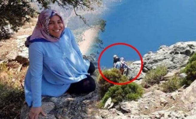 Sigorta parası için hamile eşini uçuruma itmişti, turist o anları kameraya kaydetmiş!