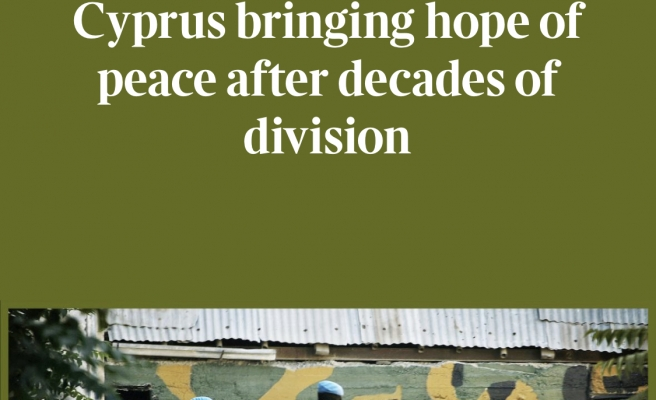 """Times Gazetesi: """"Cumhurbaşkanı Tatar eşit egemenlik temelinde iki devletli çözüm istiyor"""""""