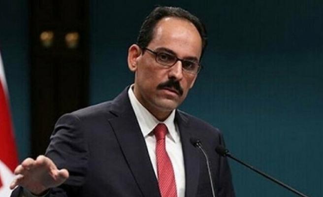 Türkiye Cumhurbaşkanlığı Sözcüsü İbrahim Kalın'dan Kıbrıs Açıklaması