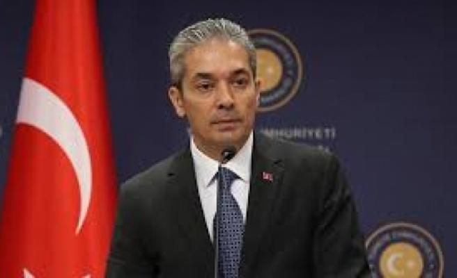 Türkiye Dışişleri Bakanlığı Sözcüsü Aksoy'dan, Hollanda'da 1915 olaylarıyla ilgili alınan karara tepki