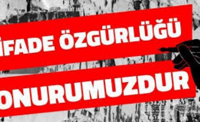 Basın örgütleri 'ifade özgürlüğü' için sokağa iniyor