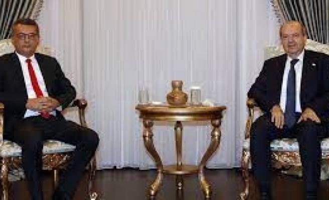 Cenevre öncesi Ersin Tatar'ın görüşmeleri devam ediyor... CTP heyetini kabul edecek