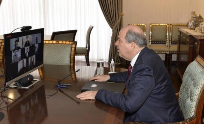 """Cumhurbaşkanı Ersin Tatar: """"Esas hedef, milli bekamızdır"""""""