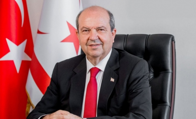 Cumhurbaşkanı Ersin Tatar, İstiklâl Marşı'nın 100. yaşını kutladı