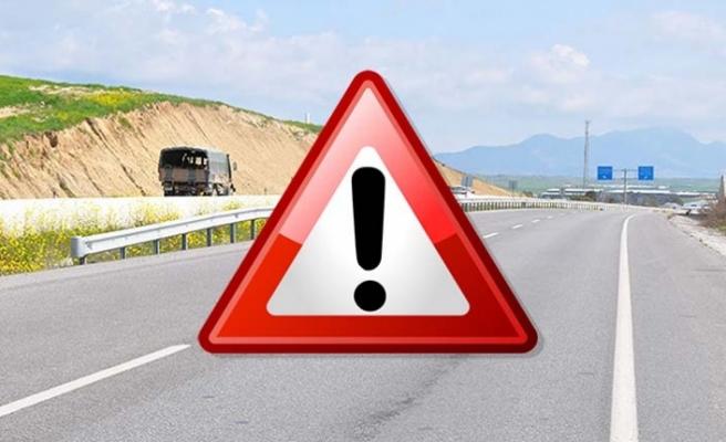 Dikkat o yol  trafiğe kapalı olacak