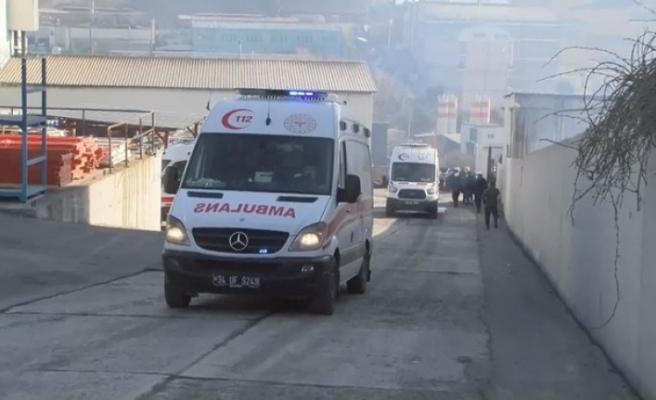 İstanbul  deri fabrikasında patlama: 3 yaralı