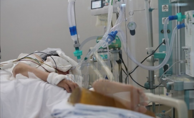 Yoğun bakımda 2 hasta tedavi görüyor