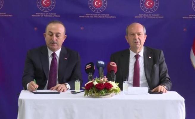 Çavuşoğlu: Maraş, Ercan ve Mağusa Limanı'nın kontrolümüzden çıkmasını istediler