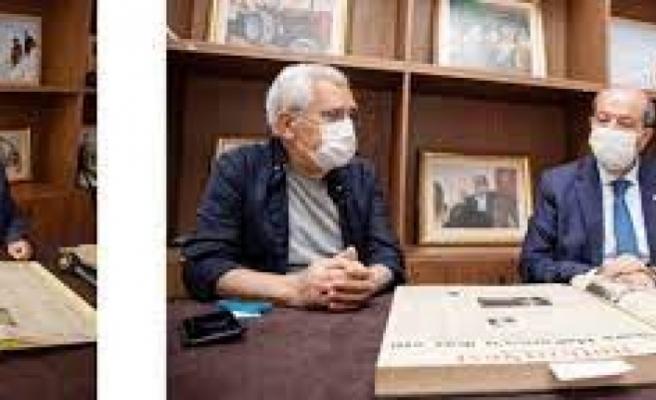 "Cumhurbaşkanı Ersin Tatar: ""Dr. Fazıl Küçük kırmızı çizgimizdir"""
