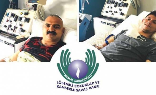 Gönüllü bağışçılar, 2 hastaya umut oldu