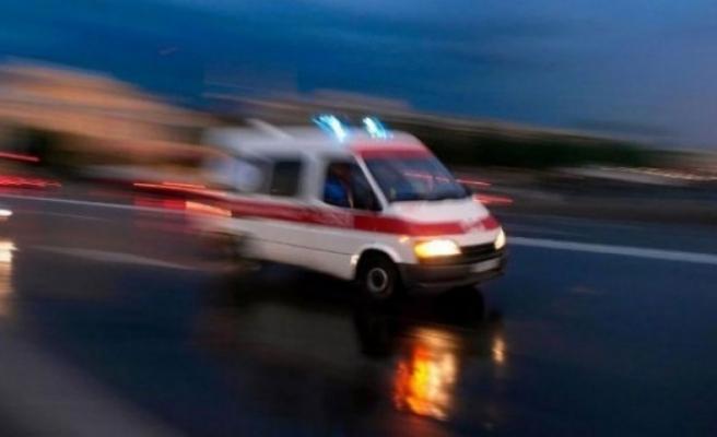 Demirhan'da iş kazası, yüksekten düştü yaralandı