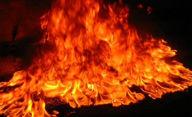 Lefkoşa'da 2 ayrı yangın