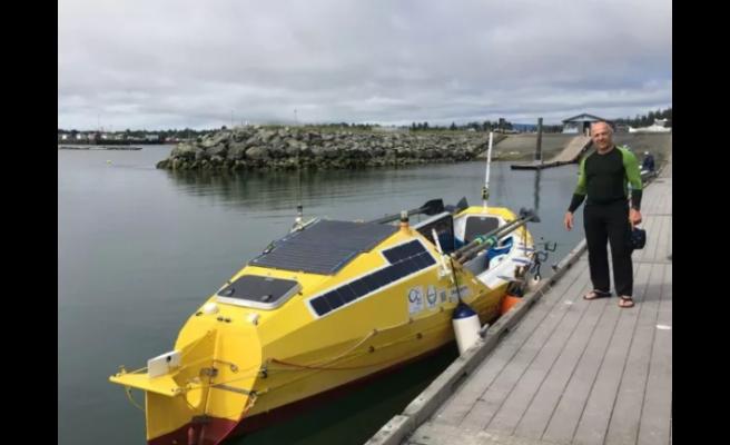 Rekortmen Türk Erden Eruç Okyanusu Kürekle Geçen İlk Kişi Olmak İstiyor
