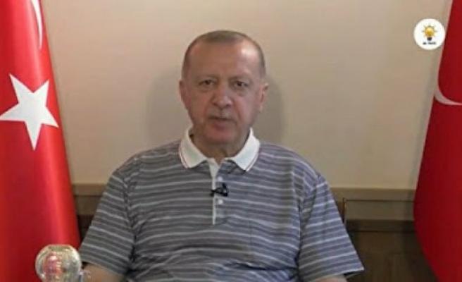 Erdoğan: Artık Kıbrıs Türklerinin masadaki tek talebi egemen devlet statülerinin tanınmasıdır