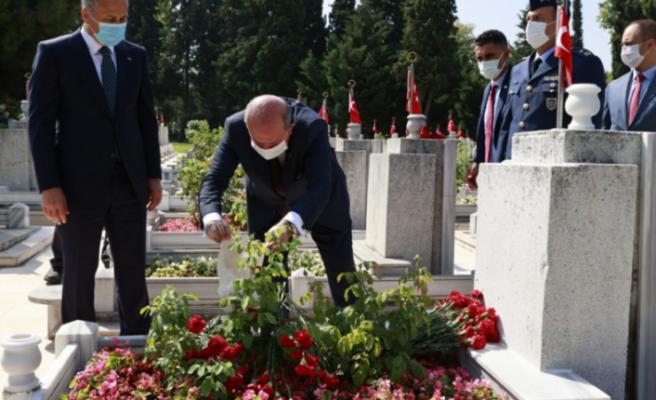 """Ersin Tatar: """"Erenköy Direnişi, Kıbrıs Türkünün Çanakkale Destanı'dır"""""""