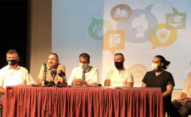KTÖS, KTOEÖS ve KTTB, okulların yüz yüze eğitime açılması için önerilerini açıkladı