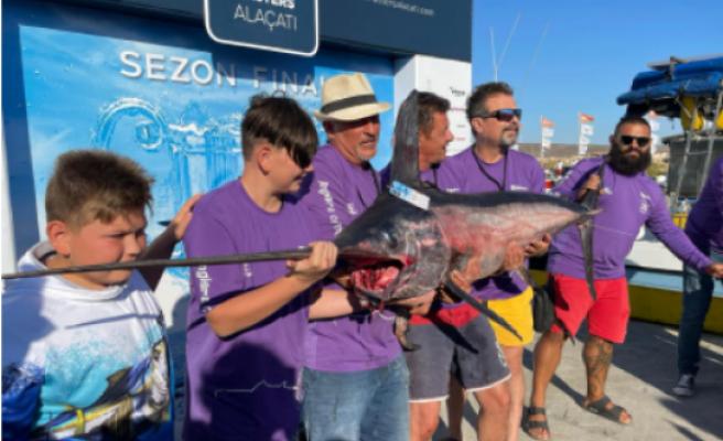 Kıbrıslı Balıkçılar Alaçatı'da şampiyon oldu