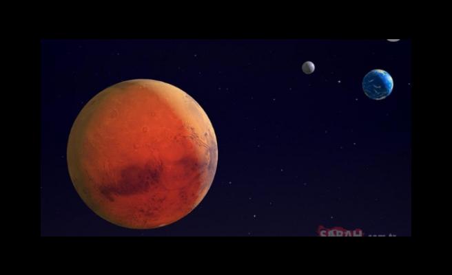 NASA açıkladı! Mars'ta yaşam olabilir!