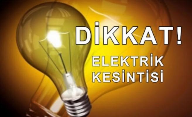 Girne'nin doğusunda yarın elektrik kesintileri yaşanacak