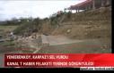 YENİERENKÖY, KARPAZ'I SEL VURDU(VİDEO)