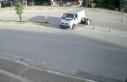 korkunç kaza kameralara anbean yansıdı!