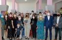 Cumhurbaşkanı Ersin Tatar'ın eşi Sibel Tatar,...