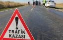 Lefkoşa Terminali civarında korkutan kaza