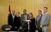 Kuaförler Birliği Ve Güzellik Uzmanları Birliğinden Kalkanlı Yaşam Evi İçin Bağış