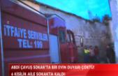 ABDİ ÇAVUŞ SOKAK'TA BİR EV ÇÖKTÜ!(VİDEO HABER)