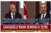 Dendias-Çavuşoğlu ortak basın toplantısında gerginlik!